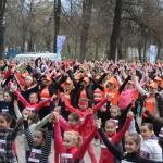 """ФОТОГАЛЕРИЈА: Женската трка со """"должина"""" од илјада жени"""