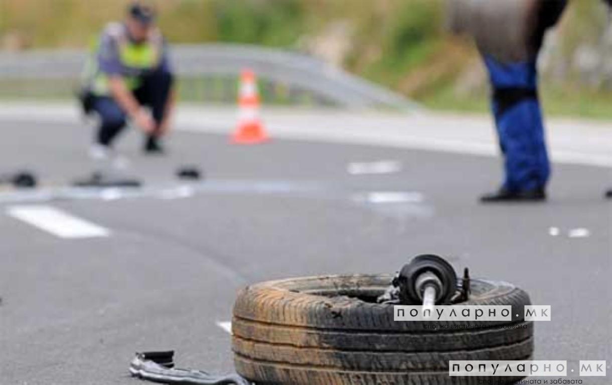 Тешка сообраќајка кај Штип, еден загинат и двајца повредени