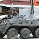 ФОТОГАЛЕРИЈА: Куманово под силно полициско обезбедување