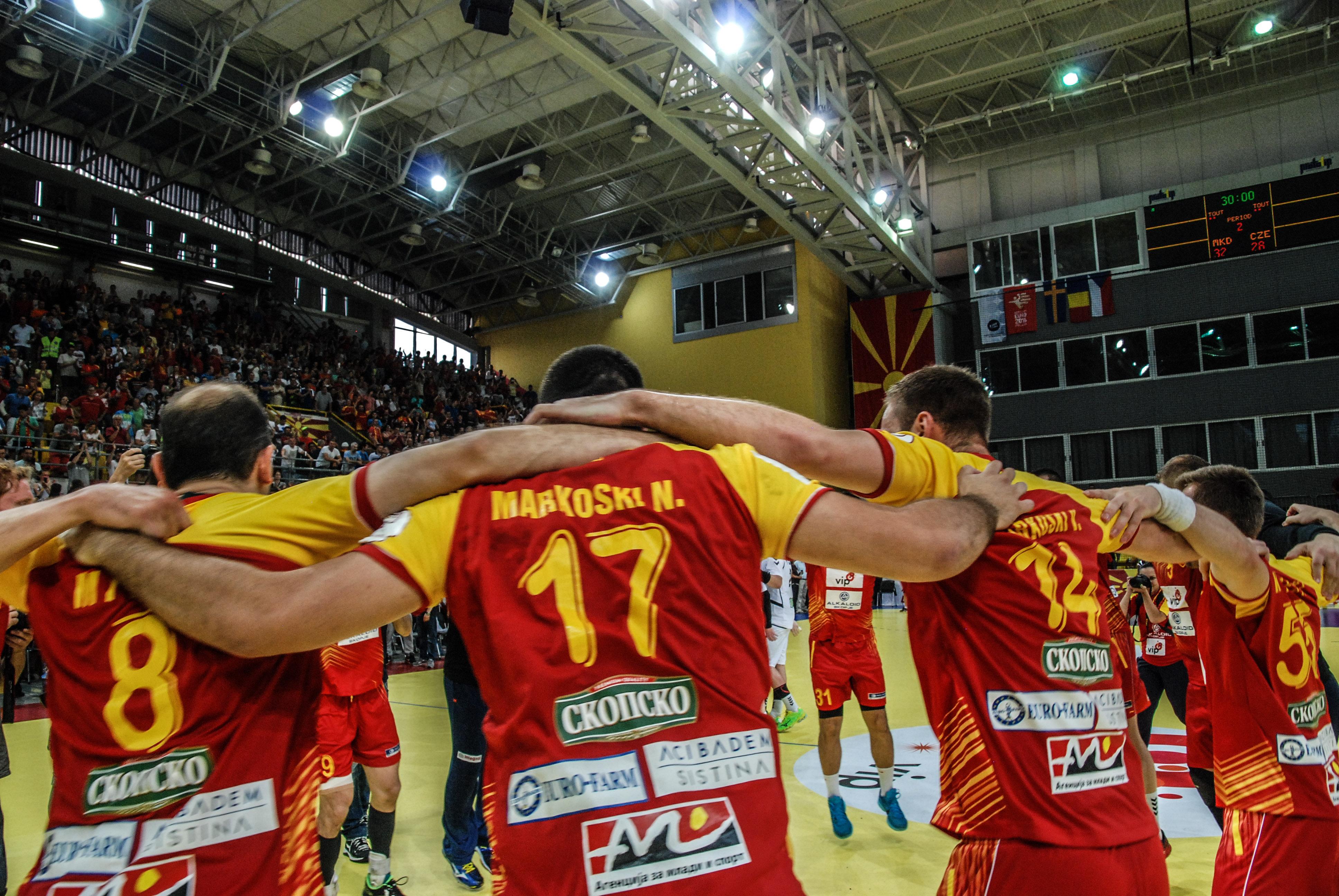 ФОТОГАЛЕРИЈА: Македонските ракометари се изборија за Европското првенство во Полска