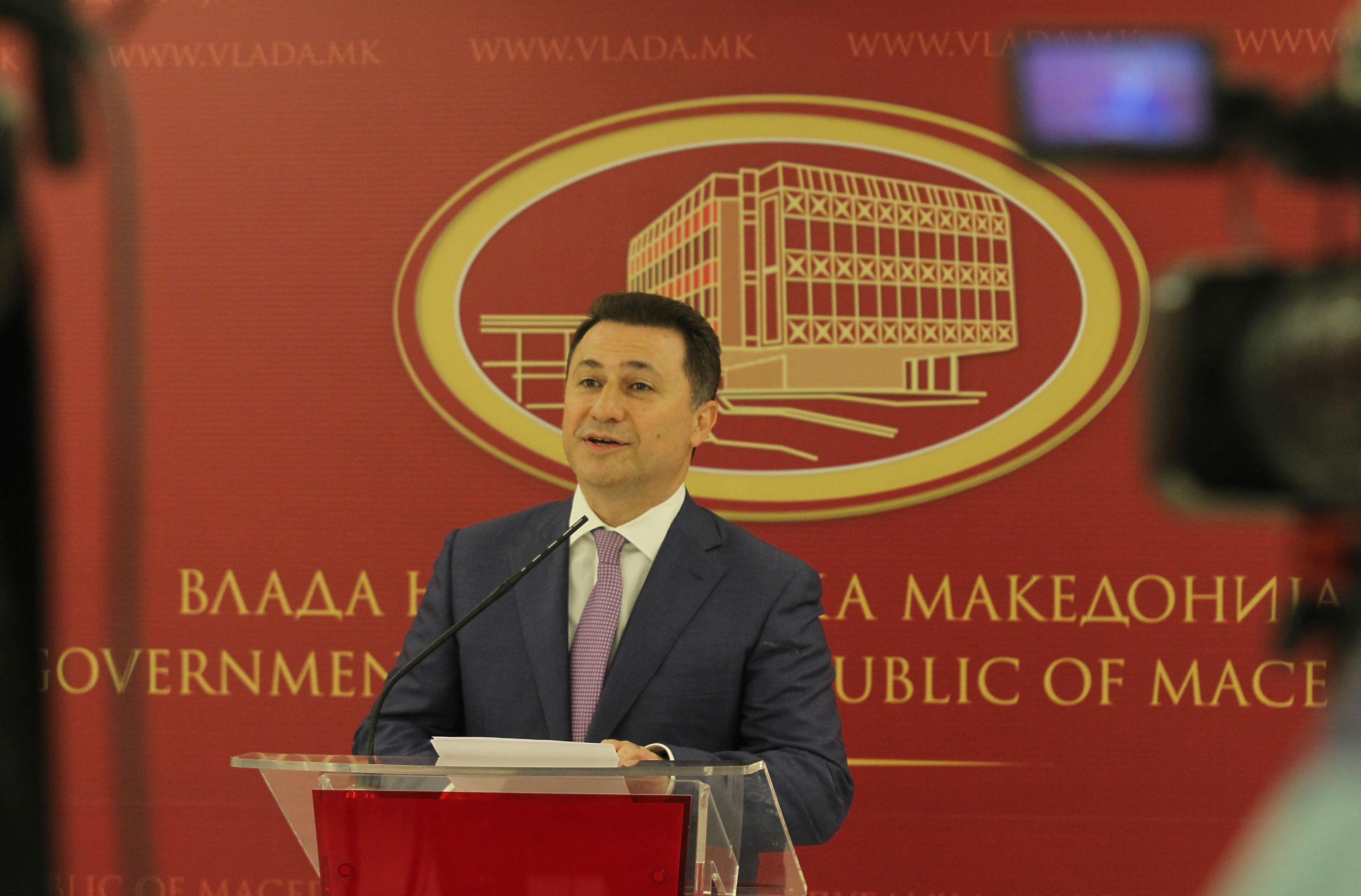 Груевски: Политичката криза решена, во април ќе оствариме историска победа