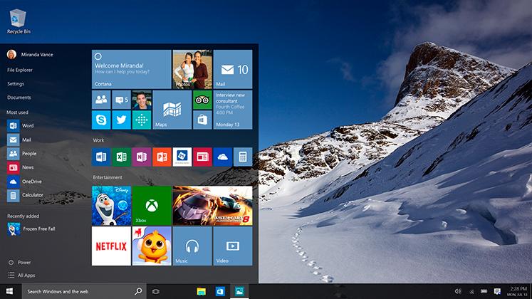 Промовиран Windows 10 кој е бесплатно достапен во 190 земји ширум светот