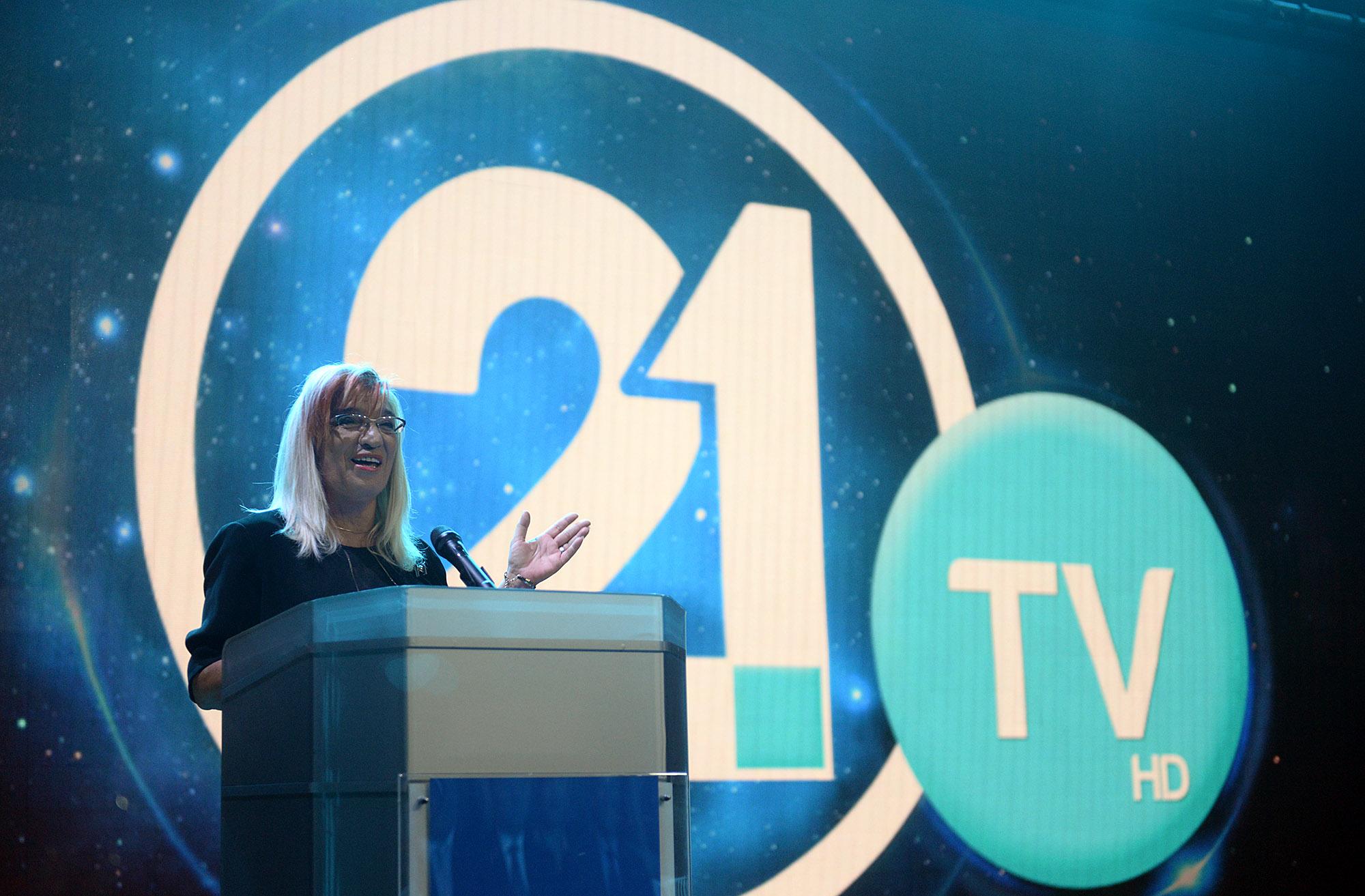Телевизија 21 почна да емитува програма во Македонија