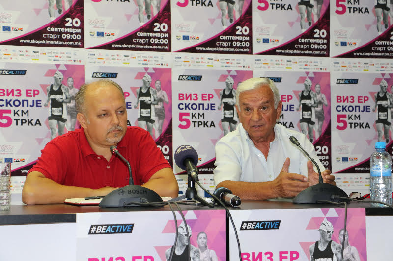 Во недела ревијално ќе се трча Виз Ер Скопскиот маратон низ центарот на Скопје