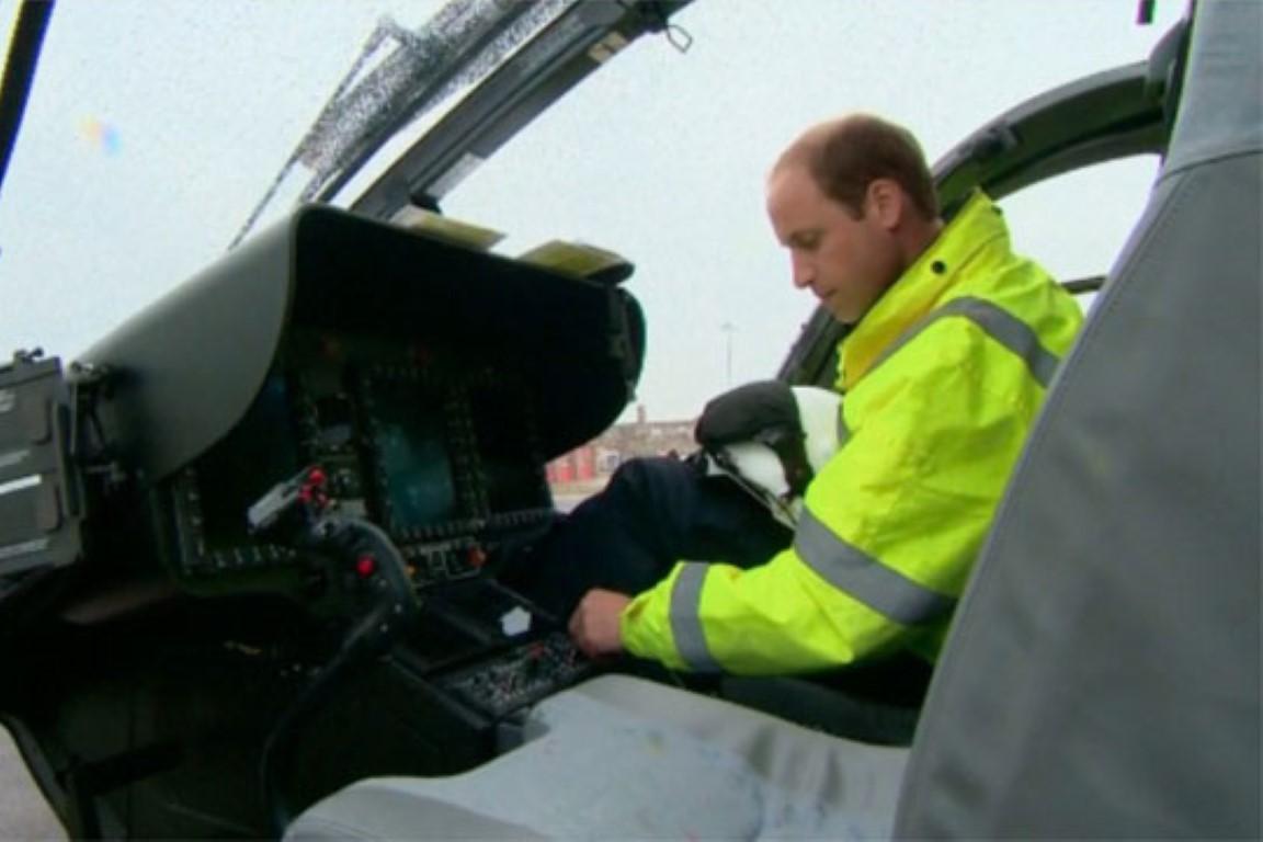 Принцот Вилијам спаси девојка повредена во сообраќајна несреќа