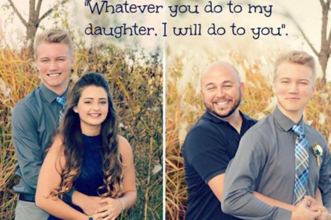 """""""Опасен"""" татко ја оствари заканата: Се што ќе и направиш на ќерка ми, јас ќе ти направам тебе"""