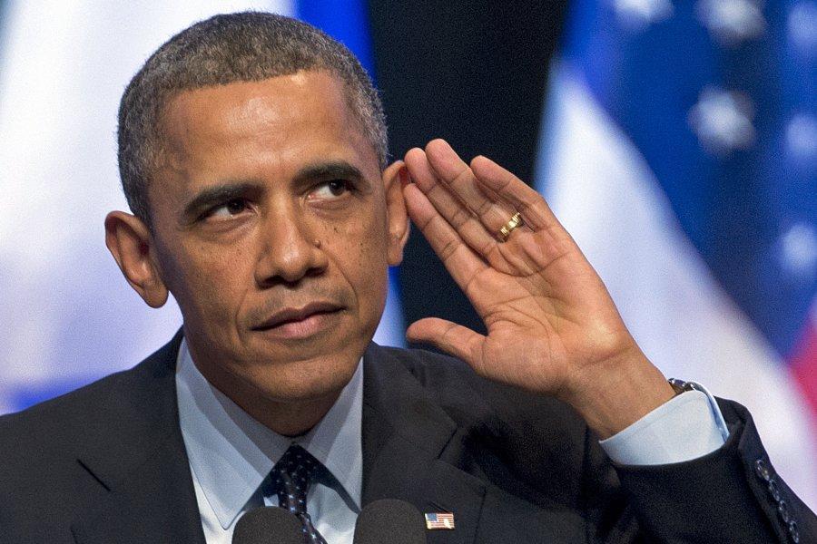 Обама ги исмеа претседателските амбиции на Кање Вест
