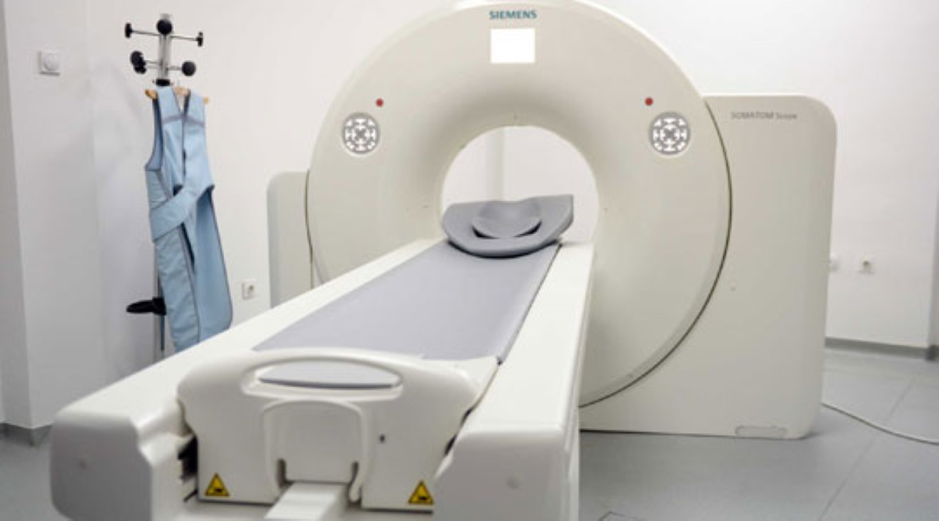 """Компјутерски томограф во Поликлиниката """"Јане Сандански"""""""
