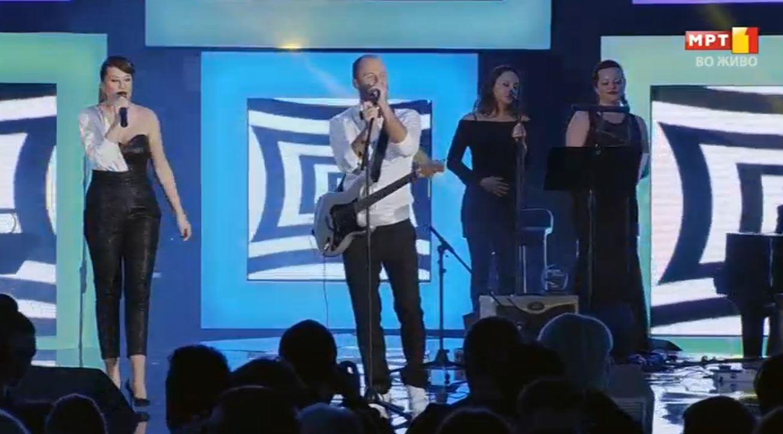 """Фестивал """"Скопје 2015"""": Прво место и 600 илјади денари за групата """"Ај Кју"""""""