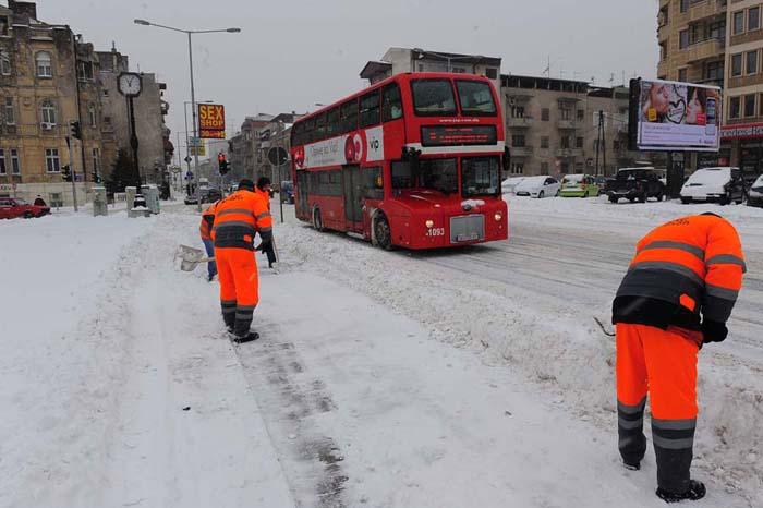 Метеоролозите најавуваат: Снег во Скопје наредната недела