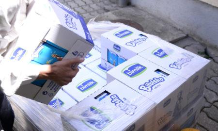 3.000 литри Битолскo млеко за децата во СОС Детско село (ФОТО)