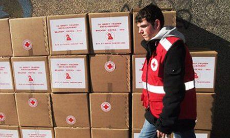ЦРВЕН КРСТ: За три дена дистрибуирани 5.500 пакети со храна и 55 тони вода