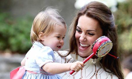 Принцезата Шарлот го изговори првиот збор