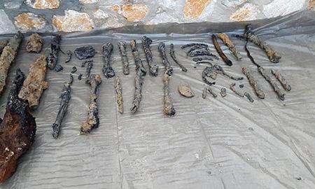 Пронајдени човечки черепи и коски во дворот на Ахмети во Зајас