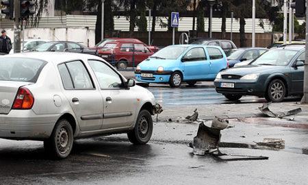 Седум сообраќајки вчера во Скопје