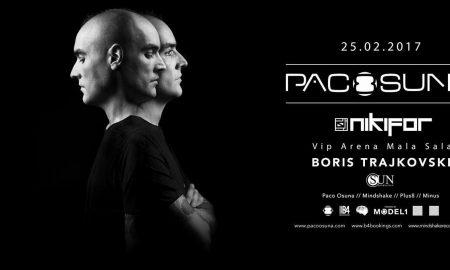 Пако Осуна- музички електро спектакл што не се пропушта!