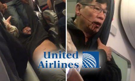 СКАНДАЛ ВО АМЕРИКА: Насилно исфрлен патник од Јунајтед Ерлајнс (ВИДЕО)