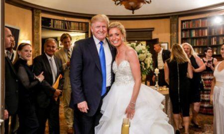 Трамп упадна на туѓа свадба во Њу Џерси (ВИДЕО)