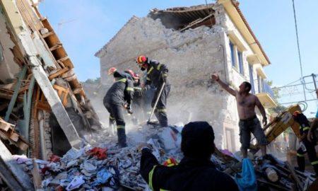 Најмалку 10 повредени во силниот земјотрес на Лезбос (ФОТО)