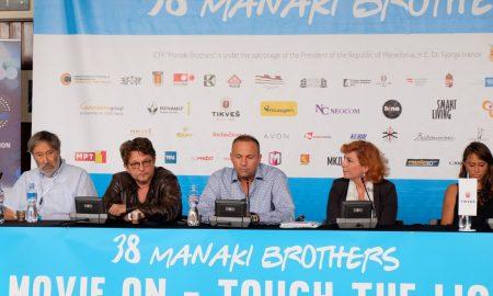 """Екипата на """"Сенки над Балканот"""" сподели впечатоци од синоќешната проекција на """"Браќа Манаки"""""""