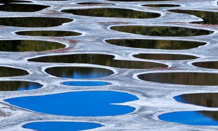 Точкесто Езеро - едно од најнеобичните места во светот