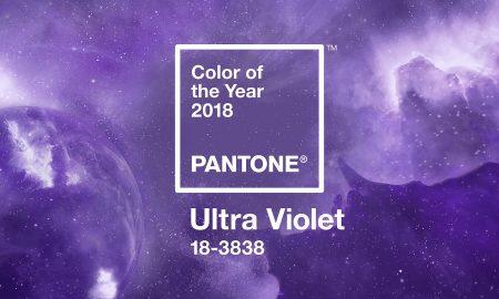 Ултравиолетова - боја за 2018 година
