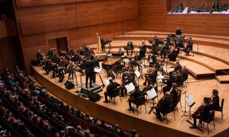 """Македонската филхармонија со новогодишен гала-концерт -""""Полноќни огномети"""""""