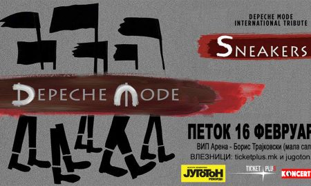 Depeche Mode - International Tribute by Sneakers во Скопје