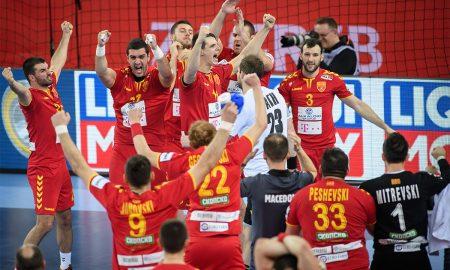 Македонија подготвена за мечот со Шпанија