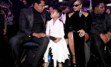"""Ќерката на Бијонсе и Џеј Зи го привлече вниманието на """"Греми"""" наградите (ВИДЕО)"""