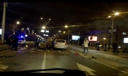 Еден загинат, еден тешко повреден, 22 сообраќајки викендот во Скопје