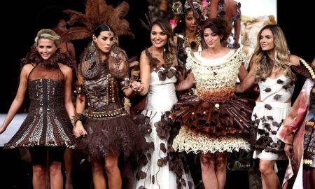 Брисел: Модна ревија со креации од чоколадо